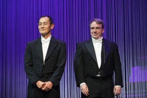 Shinya Yamanaka & Linus Torvalds