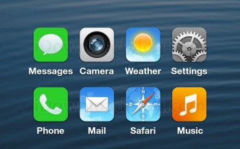 iOS 7 - Presunte icone